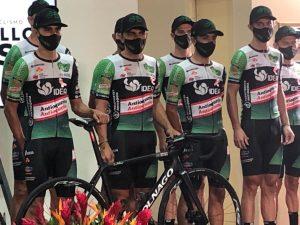 Equipo de ciclismo Orgullo Paisa.